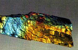 камень лабрадор - спектролит